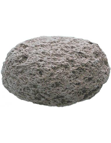 Pierre ponce volcanique grise
